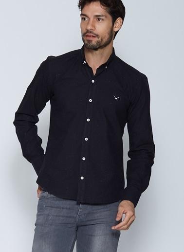Cazador Uzun Kollu Gömlek Siyah
